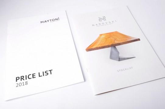 price catalogs, brochure printing