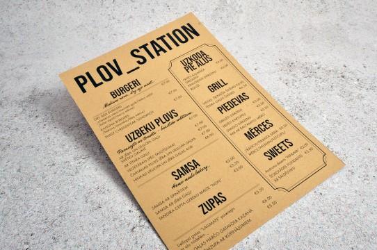 Craft paper printing