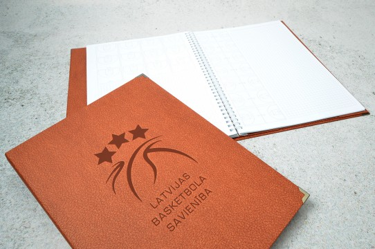 Exclusive leather notebooks