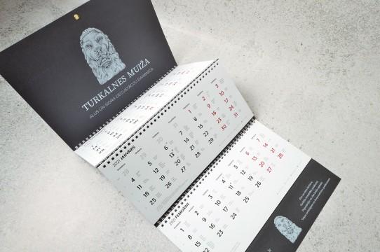Exclusive calendars