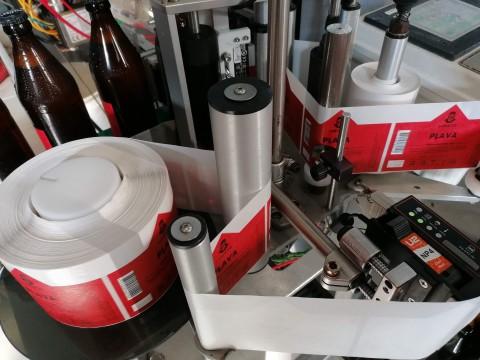 Label printing on rolls