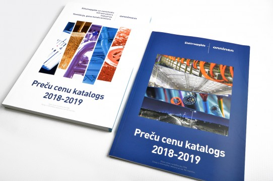 Price catalog, production