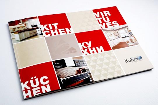 Catalog layout, graphic design
