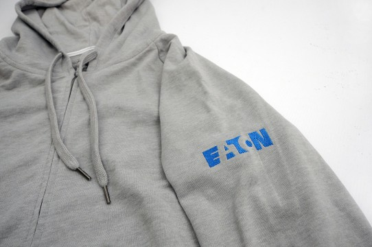 Hoodies with embroidery
