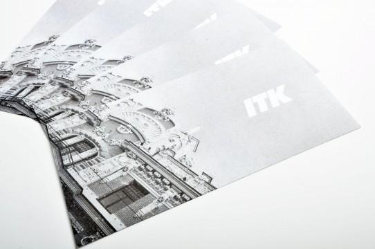 Invitation printing on silver paper