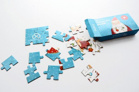 Puzzle making and printing