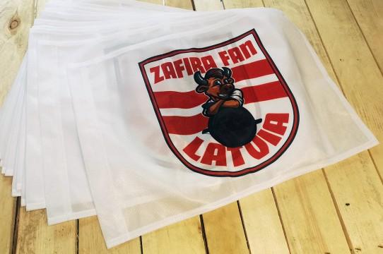 flag production, printing