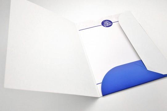 Cardboard folder production