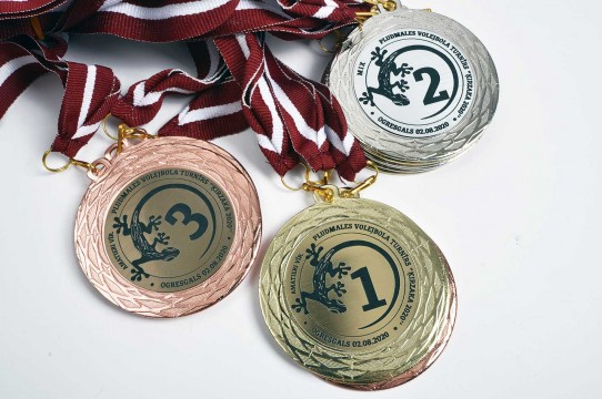 Medal production