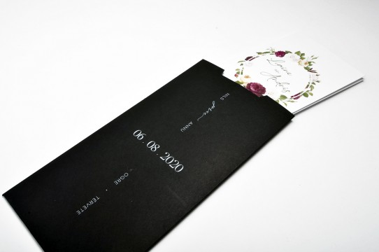 Print black invitations in white