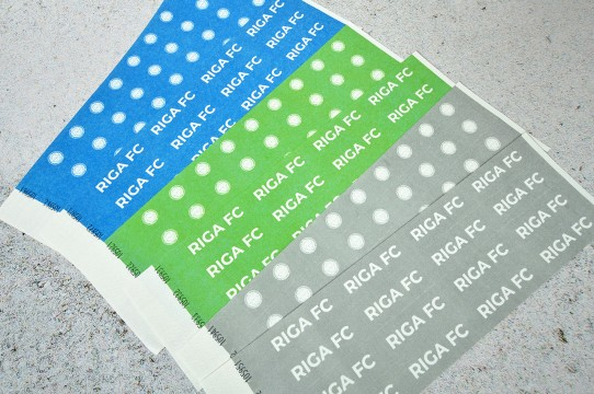 Paper wristbands printing