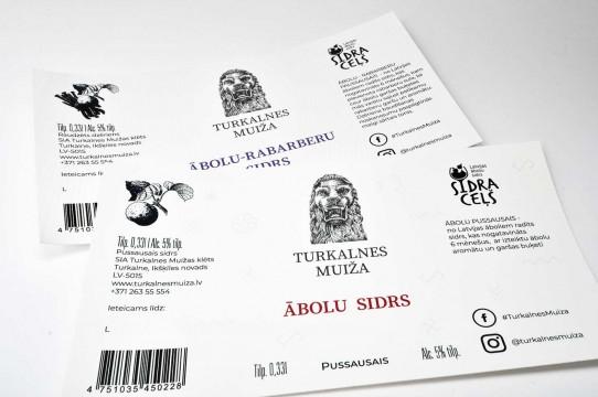 Self-adhesive label printing