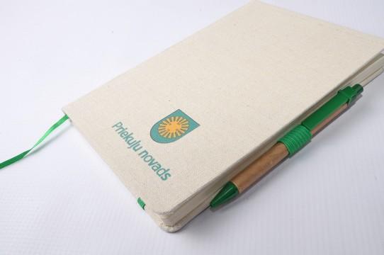 eco blociņš ar pildspalvu cenas