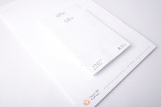 Corporative notebooks printing