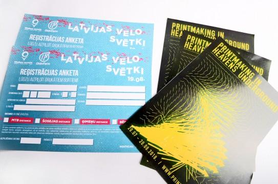 Leaflets print