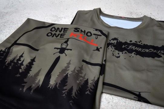Sports shirt printing