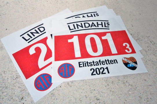 Sports number printing