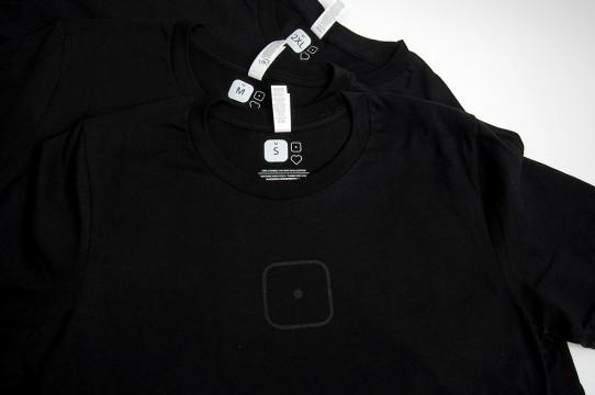 T-shirt printing in screen printing, tag printing