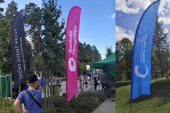 Textile Beach Flags, Poles, Tubes, Banners