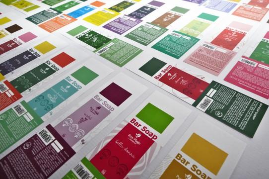 Stickers, label printing