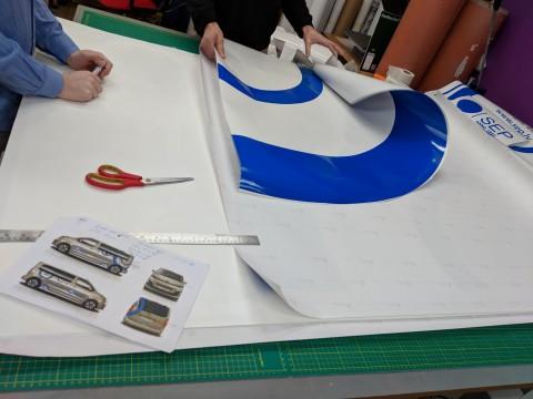 car sticker making