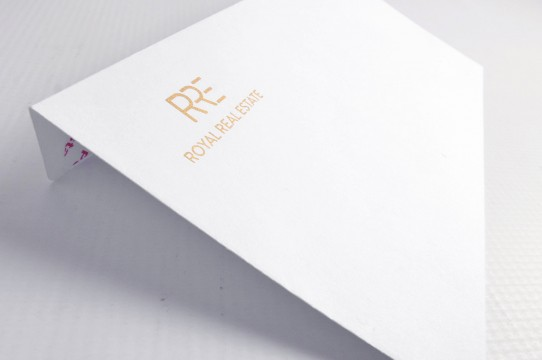 printing envelopes with gold color