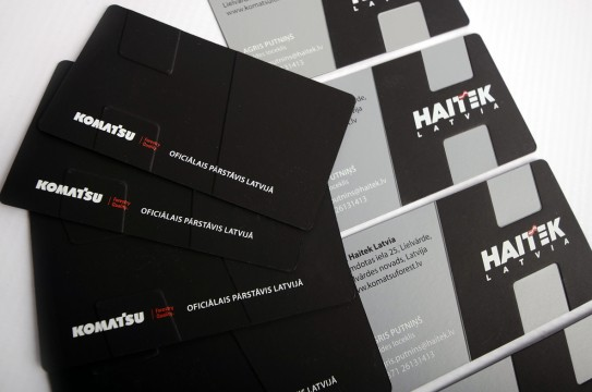 corporate identity business cards
